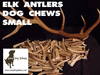 SMALL ELK ANTLER DOG CHEW